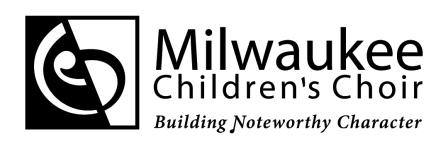 Milwaukee Children's Choir logo
